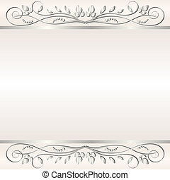 shine background - light background with floral ornaments...