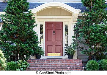 Magenta Door Pines