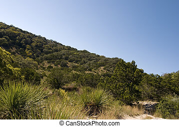 Hill Country State Natural Area, Bandera Texas - Wide angle...