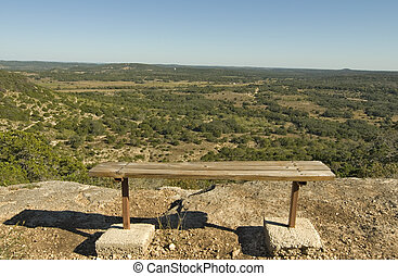 Seat With A View - Wide angle view of Hill County State...
