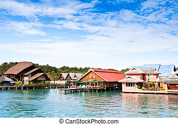 Seaside villas - Seaside villas for tourists in Thailand