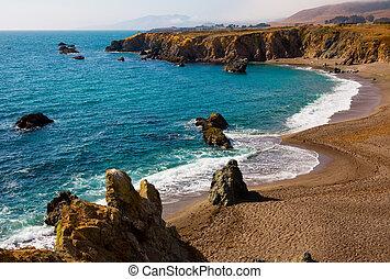 California coast, Bodega Bay