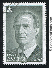 King Juan Carlos I - SPAIN - CIRCA 1993: stamp printed by...