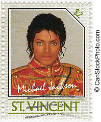 SAINT VINCENT - CIRCA 1985 : stamp printed in St Vincent...