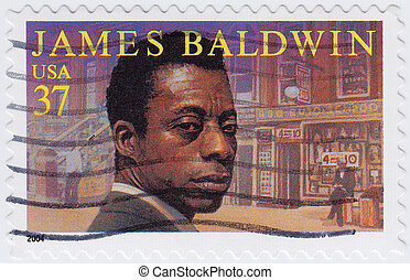 USA - CIRCA 2004 : stamp printed in USA show shows James...