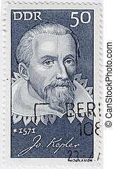 GERMANY - CIRCA 1971 : stamp printed in USA show great...