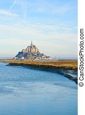 Mont Saint Michel, France - Mont Saint Michel, second most...