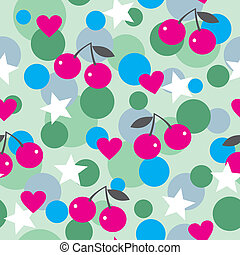 Seamless modern colorful pattern