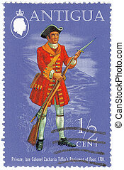 ANTIGUA - CIRCA 1999 : stamp printed in Antigua shows...