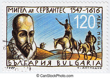 BULGARIA - CIRCA 1997: stamp printed in Bulgaria shows...