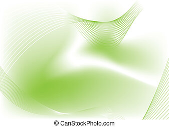 green blur - Abstract fluid background with a flowing design...