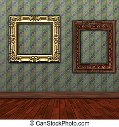 art gallery background