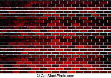 brick wall - red brick wall texture