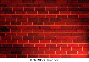 brick wall - red brick wall background