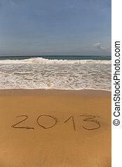 2013 written in sand