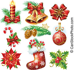 Christmas objects