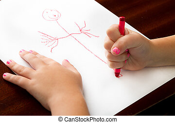 Childhood drawing at it's finest