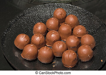 Chocolate Cordials - An assortment of deliciously sweet...