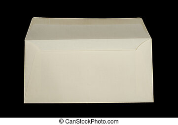 Envelope isolated - White envelope isolated