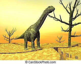 salvaje, Dinosaurio,  argentinosaurus