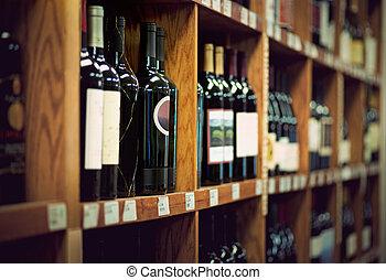 vinho, garrafas