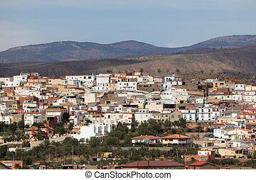 Mountain village Finana in Andalusia, Spain