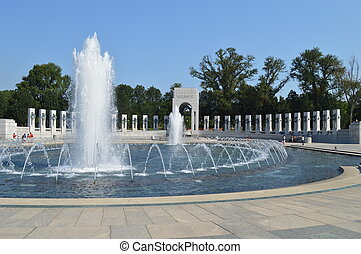 WWII Memorial in Washington D C