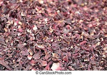 Khan el-Khalili, - dried herbs flowers spices in Bazaar or...