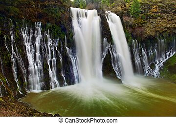 Burney Falls - Mc Aurthur Burney falls in the Mt Sastha...