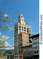 Asheville Downtown - Image features historic downtown...