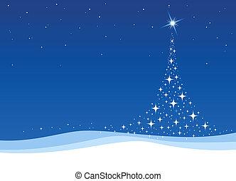 shiny christmas tree background design