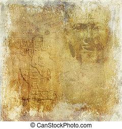 Grunge antique Egypt background - Grunge antique Egypt...