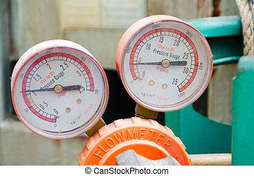 regulator - industrial regulator ( Pressure Gauge,...