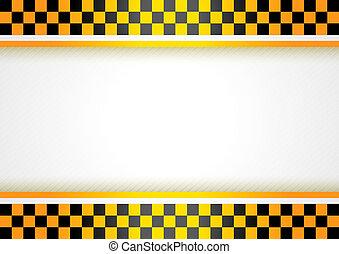 Cab background - Cub Background. Taxi cab background, vector...