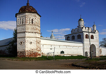 Suzdal, Golden Ring of Russia - Suzdal Tower fence Pokrovsky...