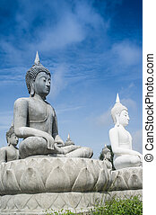 lot of Buddha Statue - lot of buddha statue in Thailand