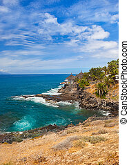 Beach in Tenerife island - Canary - Beach Las Americas in...