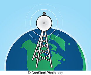 Transmission Tower Earth