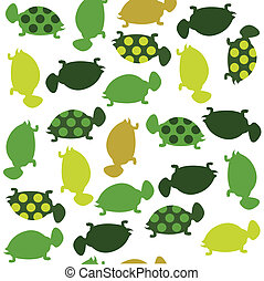 Seamless animal pattern for kids