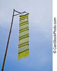 Yellow lanna flag