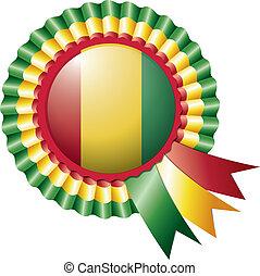 Guinea rosette flag