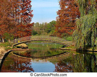 Bridge over water - Scenery from a place near my house in...