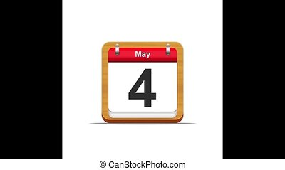 May calendar.