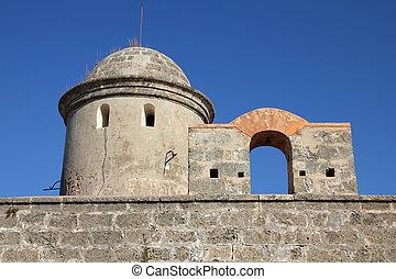 Cienfuegos, Cuba - famous old El Jagua fortress tower
