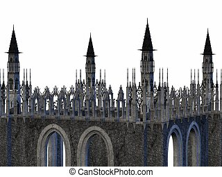 Fantasy Castle - 3D Render of an Fantasy Castle