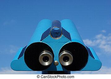 View binoculars