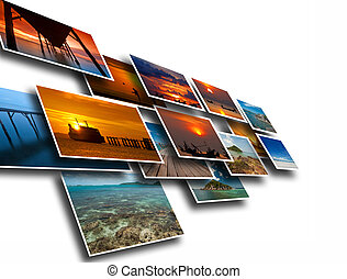 travel background - Artwork of travel from landscape...