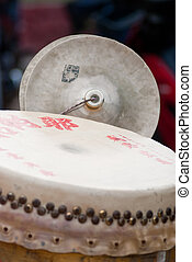 chinese drum - Chinese drum for the chinese ceremony.