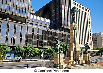 The Cenotaph War Memorial, Cape TownSouth Africa - The...