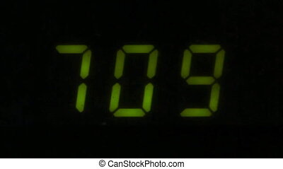 Digital led counter from seven
